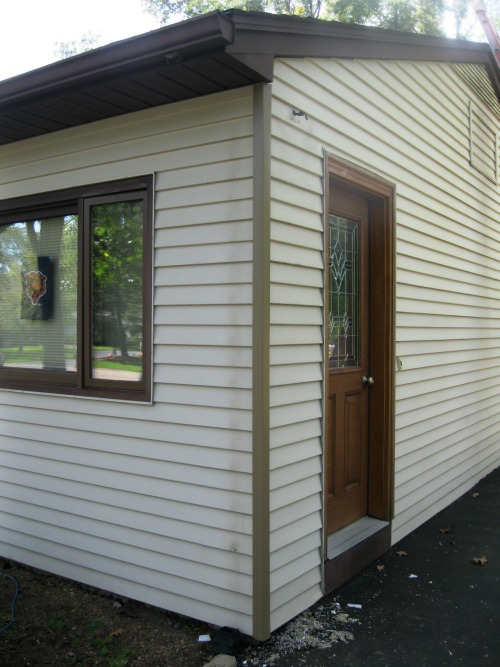 2nd siding area repaired