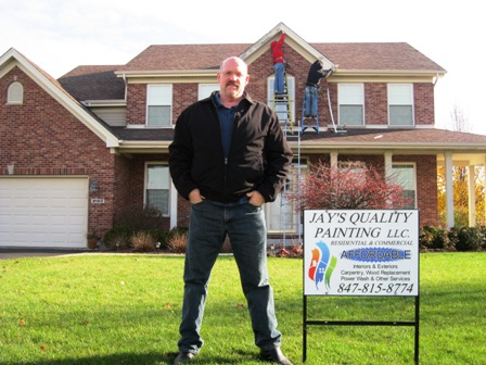 Jay Wasilas from McHenry Home Painting Company, Jay's Quality Painting